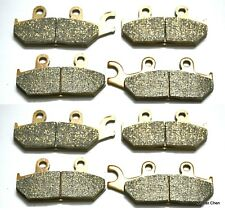 Front Rear Brake Pads For Yamaha YXM 700 FI Viking EPS 2014 Brakes YXM700 4 SET