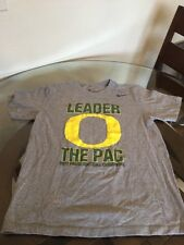 Oregon Ducks Nike Leader Of The Pac 2011 Pac-12 Champion Shirt Medium Excellent