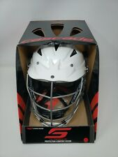 Cascade CPV-R lacrosse helmet (White) XS size with Box and Pads