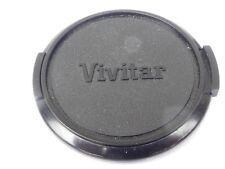 Used Vivitar 49mm Lens Front Cap Black snap-on type plastic made in Japan