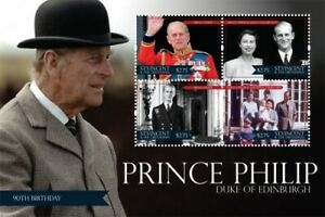 St. Vincent 2011 - SC# 3799 Prince Philip, Edinburgh - Sheet of 4 Stamps - MNH
