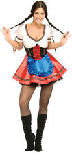 Sexy German Beer Bavarian Girl Oktoberfest Adult Womens Halloween Costume XS