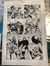 Bat Girl Number 12 Page 21 Interior Page Comic Art