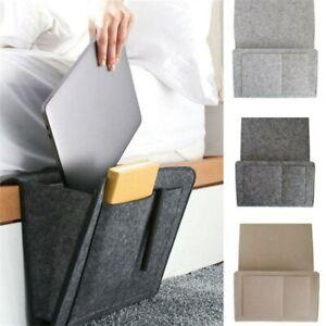 Organizador de almacenamiento para cabecera de cama con soporte cajón para cama