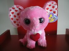 Ty Beanie BoosTender the Elephant - 6 inch NWMT. Retired and hard to find.