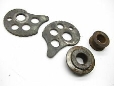 1982 YAMAHA 82 TT250 TT 250 TT250J 3Y0 - REAR AXLE CHAIN PULLERS & COLLAR SPACER
