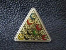 Rack of Billard Balls lapel pin  Very nice collector pin   New