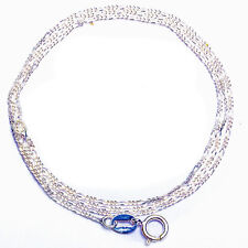 "Figaro 030-18"" .925 Sterling Silver Necklace MADE IN ITALY 18"""