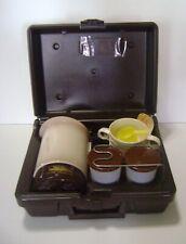 Empire Kar N Home Coffee Maker Travel Kit Vintage Electric/Auto Plug In Beige