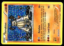 POKEMON BW11 BLACK & WHITE LEGENDARY TREASURES HOLO N°  84/113 TERRAKION 130 HP