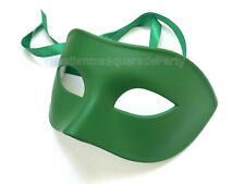 Black White mens masquerade eye mask for man boys simple classic costume fun