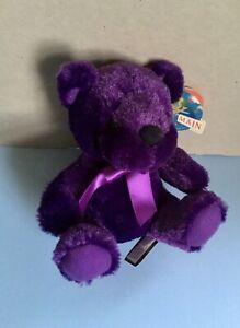 Rainbow Bear, Purple, First and Main #1362,original tags