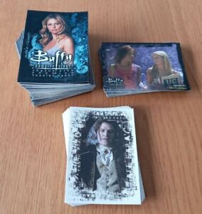 BUFFY THE VAMPIRE SLAYER JOB LOT TRADING CARDS BY INKWORKS COLLECTION