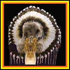 Genuine Native American Navajo Indian Headdress 36 AMERICAN HERITAGE TRADITIONAL
