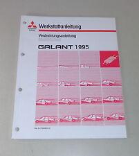 Werkstatthandbuch Mitsubishi Galant E 50 Nachtrag Elektrik Schaltpläne ab 1995