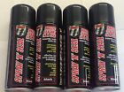 4 X Spray Mastic Instant Leak Stop Spray N Seal Roofs Gutters Pipes 200ml Black