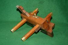 Fine Antique Thos. Ibbotson & Co Sheffield Slide Arm Plow Plough Plane INV#EB07