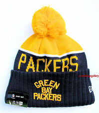 Packers On Field 2015-16 Throwback Sports Knit Cap Beanie Winter Hat Authentic