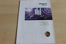 113104) Chrysler Neon - Farben & Austattung & tech. Daten - Prospekt 11/1996