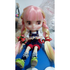"""8"""" Neo Middie Blythe Doll Joint Body Nude Doll from Factory CA10005+Gift"""