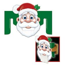 Santa Toilet Paper Dispenser Cutout - 35cm x 27cm - Christmas Party Decorations