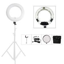 FS-480II Adjust Bi-color LED Selfie Ring Lights For Video Makeup DSLR +Soft Bag