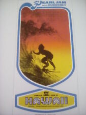 Pearl Jam Maui Hawaii 1998 Tour Poster 26x13cm from Book to Frame?