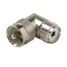 *20 Pack* NEW UHF PL-259 male to female angle elbow adapters *Ships from USA*