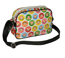 PAUL FRANK - MEDIUM - GUMBALL - MESSENGER/X BODY BAG - WHITE