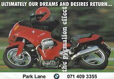 BMW Motorcycles (Motorrad)  - Original 1993 Vintage Magazine Advert - Park Lane