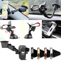 360 CAR MOUNT HOLDER CRADLE WINDSCREEN AIR VENT GPS PDA TOM-TOM MOBILE PHONES