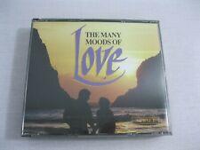 The Many Moods Of Love 3 Disc CD Set 1992 J Mathis Lettermen Ferrante & Teicher