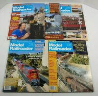 Vintage 1992 Model Railroader Magazine Lot Of 5
