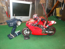 RC motorcycle nitro Ducati 999 R testastretta thunder tiger 1/5 scale W. Remote