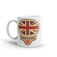 Rustic England Flag High Quality 10oz Coffee Tea Mug #4204