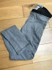 Helmut Lang Grey Jeggings Skinny Jeans Bnwot Size 24 Uk6