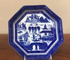 Mottahedeh BLUE CANTON (Blue Willow) Octagonal Tray