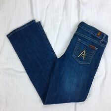 "Seven For All Mankind ""A Pocket"" Denim Jeans Womens Size 26 X 29"
