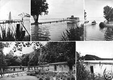 AK, Lenz bei Malchow, Ferienzentrum VEB SKET Magdeburg, fünf Abb., 1973