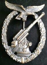 ✚7116✚ German Luftwaffe Flak Gunner Anti Aircraft Badge post WW2 1957 pattern