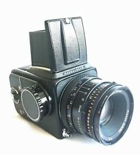 HASSELBLAD 500 C/M outfit body Zeiss T* lens CF 80mm F 2.8  A12 back