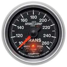 Auto Meter 3658 Sport Comp Ii 100 260 F Transmission Temperature Gauge