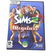 Sims 2 Megaluxe PC Game Region Free , Los 2 Discs - Ships Fast