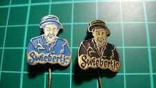Swiebertje pin badge 60s 60's lapel Dutch speldje 2pcs