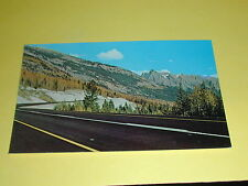 Rogers Pass Through Glacier and Revelstoke Parks B.C.Postcard Canada