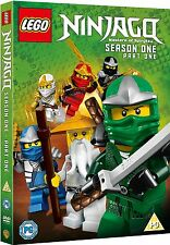 Lego Ninjago Masters Of Spinjitzu Season 1 Part 1 (DVD)