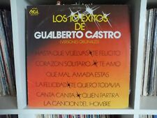 GUALBERTO CASTRO   Los 10 Exitos   Hasta que vuelvas - Te felicito   LP VG+