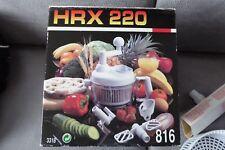 Zerkleinerer HRX 220 Turbolux - Küchenmaschine - NEU