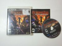 Resident Evil Operation Raccoon City PlayStation 3 PS3 Complete CIB Authentic