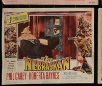 THE NEBRASKAN Phil Carey Roberta Haynes Vintage 1953 WESTERN LOBBY CARD 11 x 14